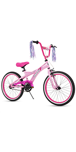 Pink huffy 20 inch girls bicycle
