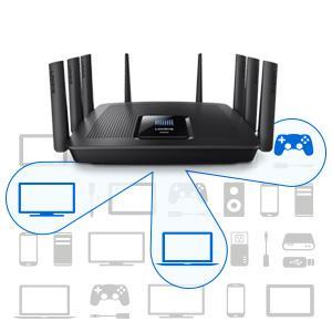 liknksys ea9500 ac5400 router wlan alexa amazon echo mumimo mu-mimo