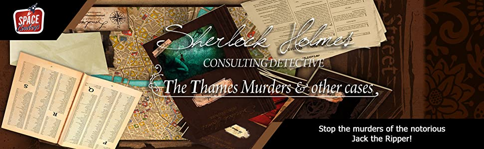Space Cowboys Sherlock Holmes Consulting Detective
