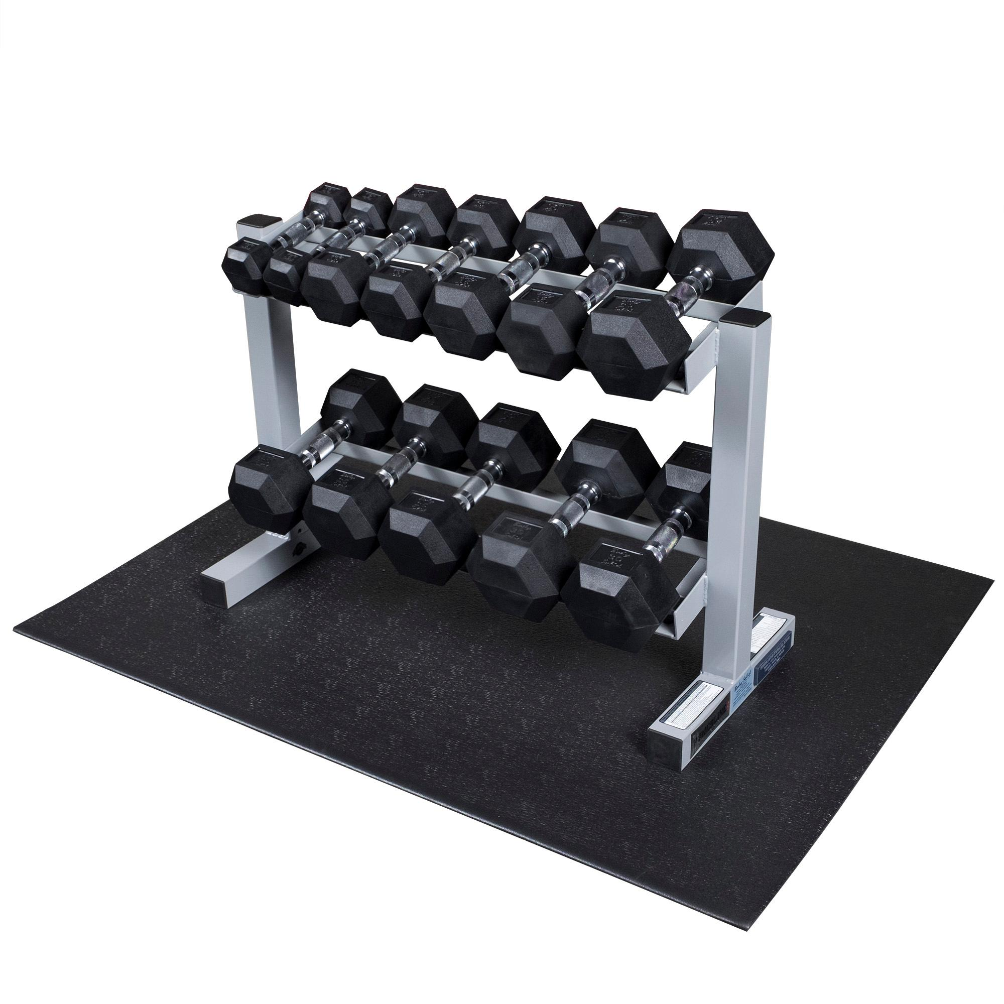 Amazon Com Powerline Pdr282x 32 Inch 2 Tier Dumbbell