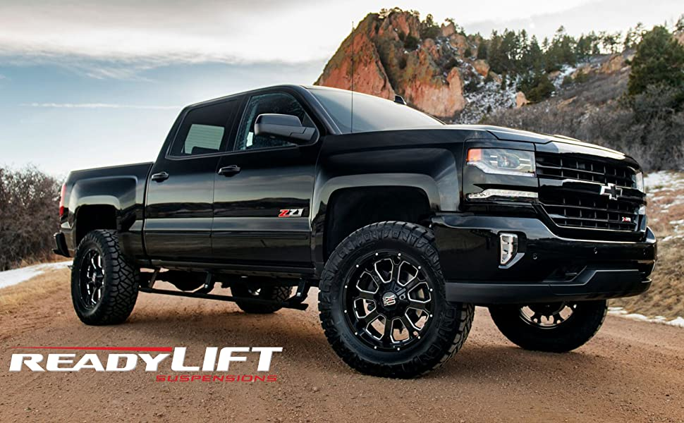 Chevy and GM lift kits from ReadyLift