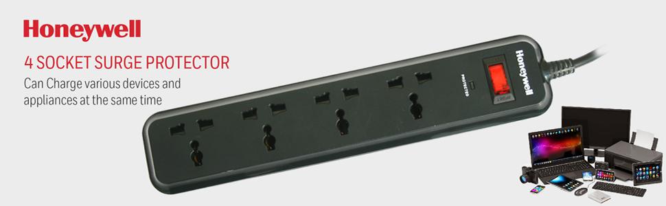 4 Socket Surge Protector