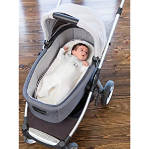 Moses Basket Foam Mattress Bassinet Baby PRAM Breathable Quilted 70 X 35 X 3.5cm