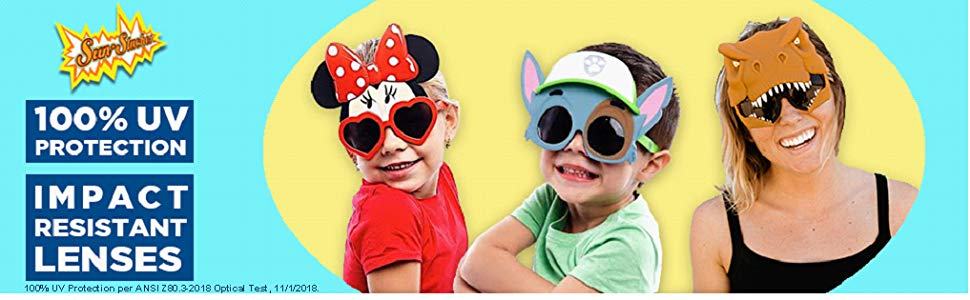 a9f381634df Amazon.com: Costume Sunglasses PJ Masks Cat Boy Sun-Staches Party ...