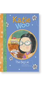 katie woo lying asian chinese diverse lesson children glasses