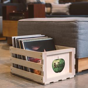 solid wood storage bin