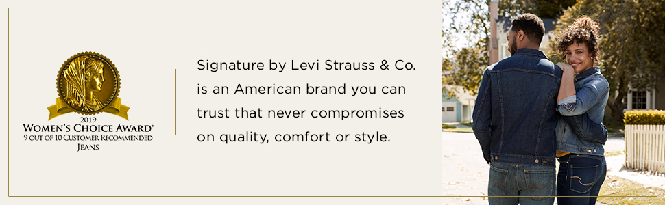 2019 Womens Choice Award Winner, customer recommended jeans