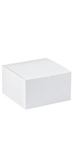 """10 x 10 x 6"""" White Gift Boxes"""
