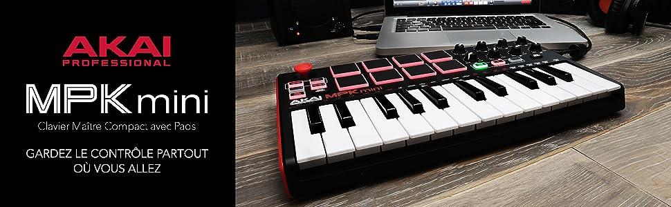 Clavier Maitre compact avec pads