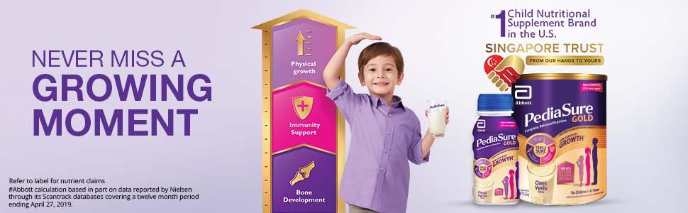 Pediasure Vanilla 1.6kg, Child Nutrition, Milk Powder, Milk Formula, Child's Physical Growth