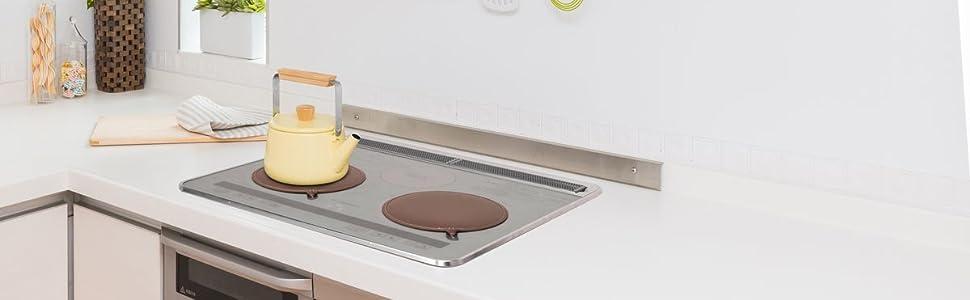 IHマット IHクッキングヒーター IHコンロ ガラス天板 キッチン汚れ 汚れを防ぐ