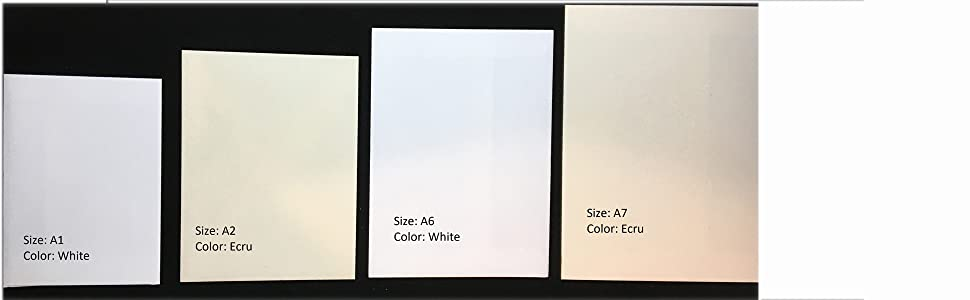size and color comparison