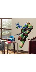Roommates RmkScs Teenage Mutant Ninja Turtles Peel And Stick - Ninja turtle wall decals