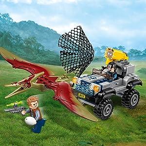 LEGO Bau- & Konstruktionsspielzeug Pteranodon-Jagd 75926 Baukästen & Konstruktion LEGO Jurassic World