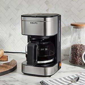 KRUPS coffee maker, coffee maker, coffee machine, personal coffee machine, personal coffee maker