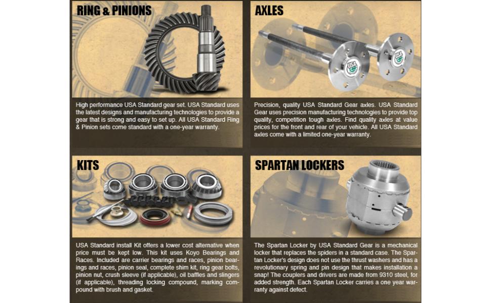 quality drivetrain parts