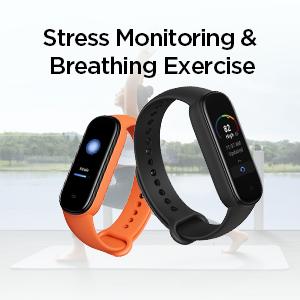 Monitoreo del estrés y ejercicio respiratorio
