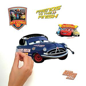 Amazoncom Roommates RmkScs Disney Pixar Cars Piston Cup - Wall decals cars