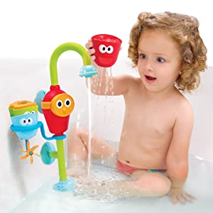 Yookidoo kids bath toys fun learn play splash clean study