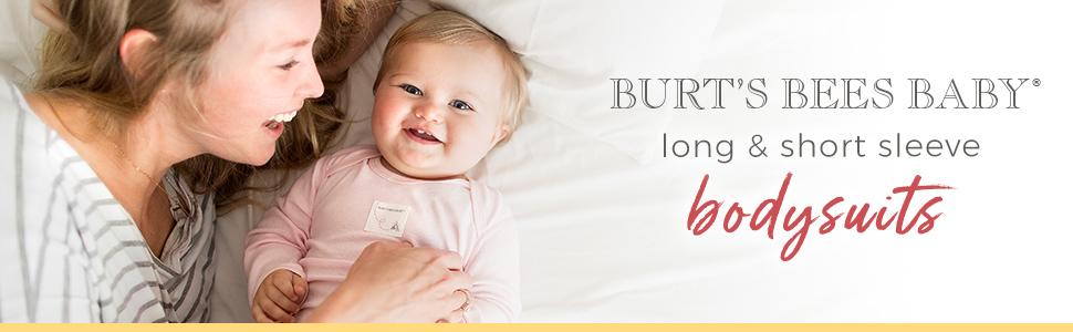 Burts Bees Baby Bodysuits Multi Organic Clothing Clothes Girls Boys Unisex Newborn Infant Romper 3M