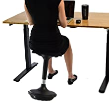 wobble stool active sitting chair balance standing desk bar stool