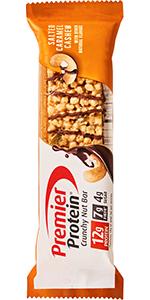 Premier Protein Bar, Crunchy Nut Bar, 12g Protein