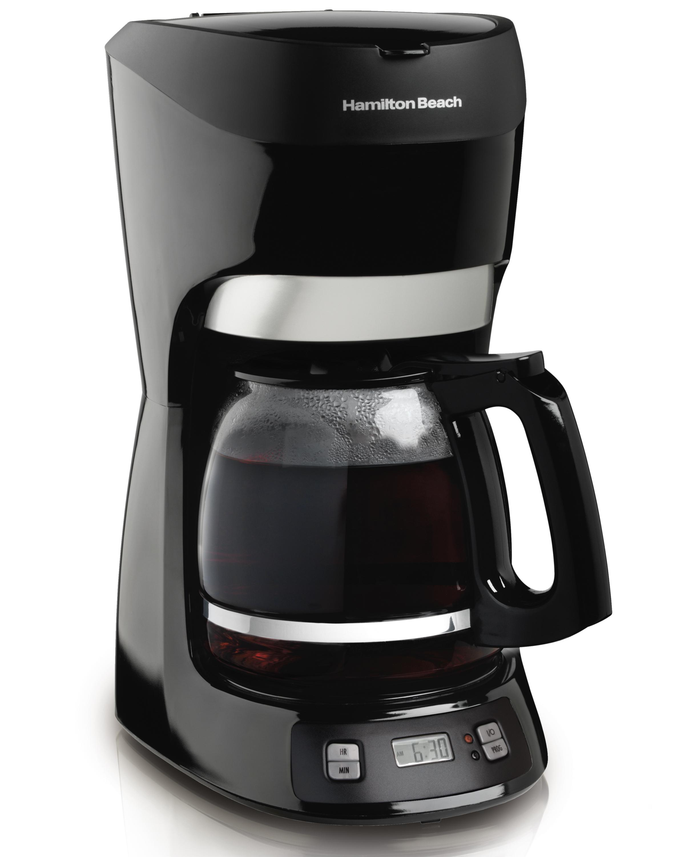 Amazoncom Hamilton Beach Cup Coffee Maker With Digital Clock - 5 most unique coffee shops in hamilton on