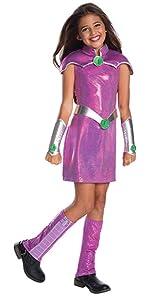 starfire costume for girls