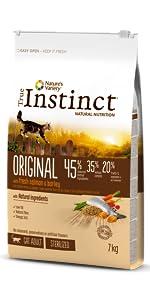 True Instinct Original - Natures Variety - Pienso para Gato ...