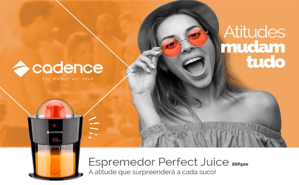 Espremedor de Frutas Perfect Juice Cadence