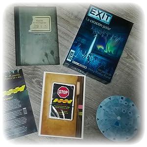 Devir - Exit: La estación polar, Ed. Español (BGEXIT6): Amazon.es: Juguetes y juegos