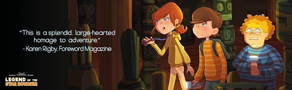 Choose your own adventure graphic novel chapter book for kids 8-12 boys girls - Legend Of The Star Runner: A Timmi Tobbson Adventure Book For Boys And Girls (Solve-Them-Yourself Mysteries For Kids 8-12)
