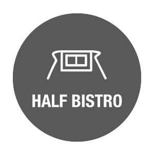 Chef Works Half-bistro Icon