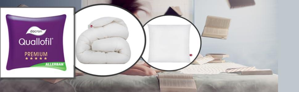 Abeil Premium Couette Prestige Quallofil Allerban Anti Acarien Coton