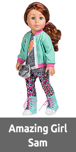 "Girl, Doll, for, Dolls, Outfit, Set, accessories, 18"", 18-inch, Clothes, inch, Brown, Crafts, girls"