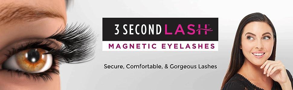 bc1c277ee63 Amazon.com : Allstar Innovations - 3 Second Lash Magnetic Eyelash ...