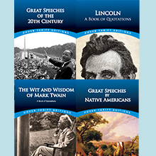 Lincoln, Twain, Speeches, Quotations