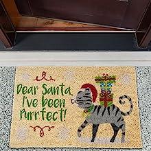 cat gray laundry room coco coir funny camping owl winter rustic garage doormats entrance way