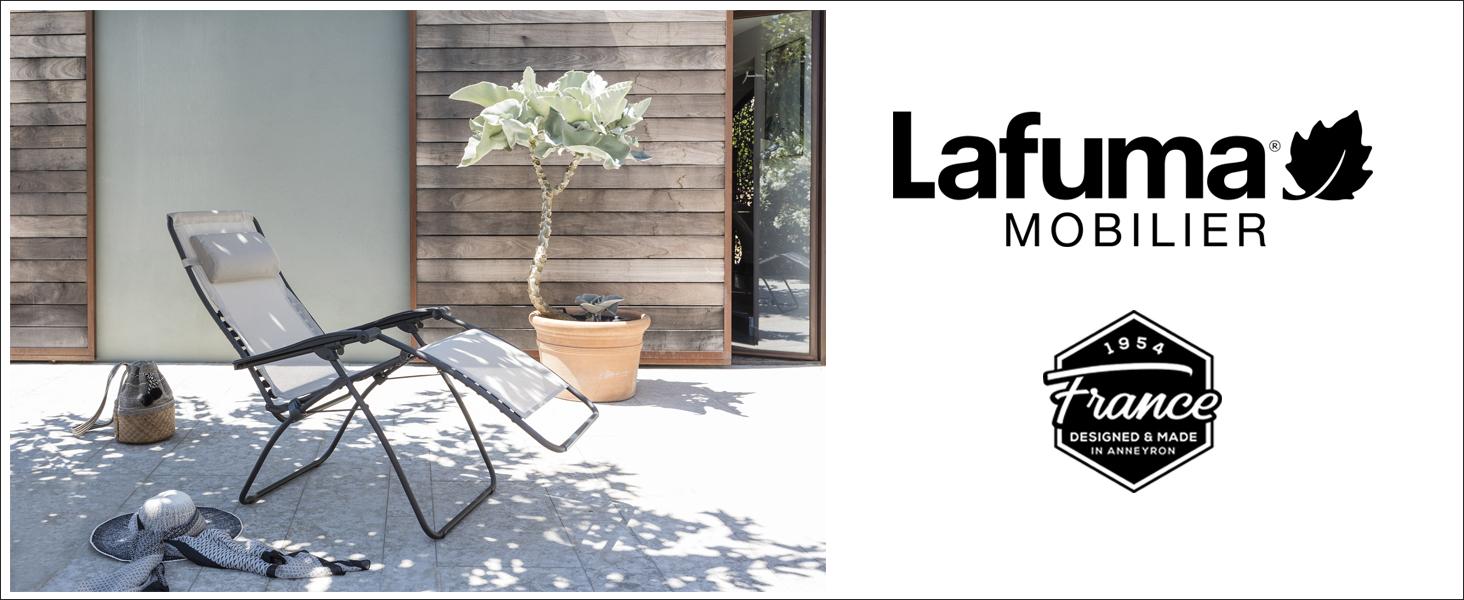 Lafuma Tumbona relax, Plegable y ajustable, RSX Clip, Air Comfort ...