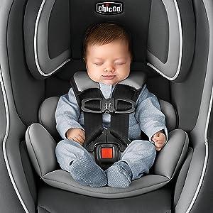 Amazon.com : Chicco NextFit iX Zip Convertible Car Seat, Traction : Baby