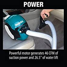 power powerful motor CFM