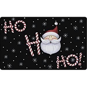 santa claus;candy cane;candy;peppermint;snow;snowflake;winter;artistic;cute;adorable;christmas