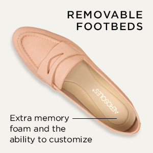 removable foot beds