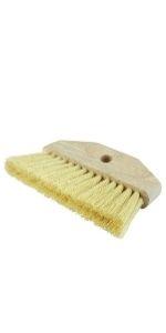 "Whitewash Brush, 2-5/8"" Trim Length, White Tampico Fill, with 12"" Handle"
