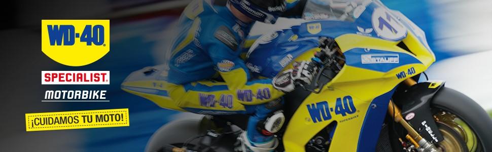 WD-40 Total de Moto en Ambiente Specialist Motorbike Spray