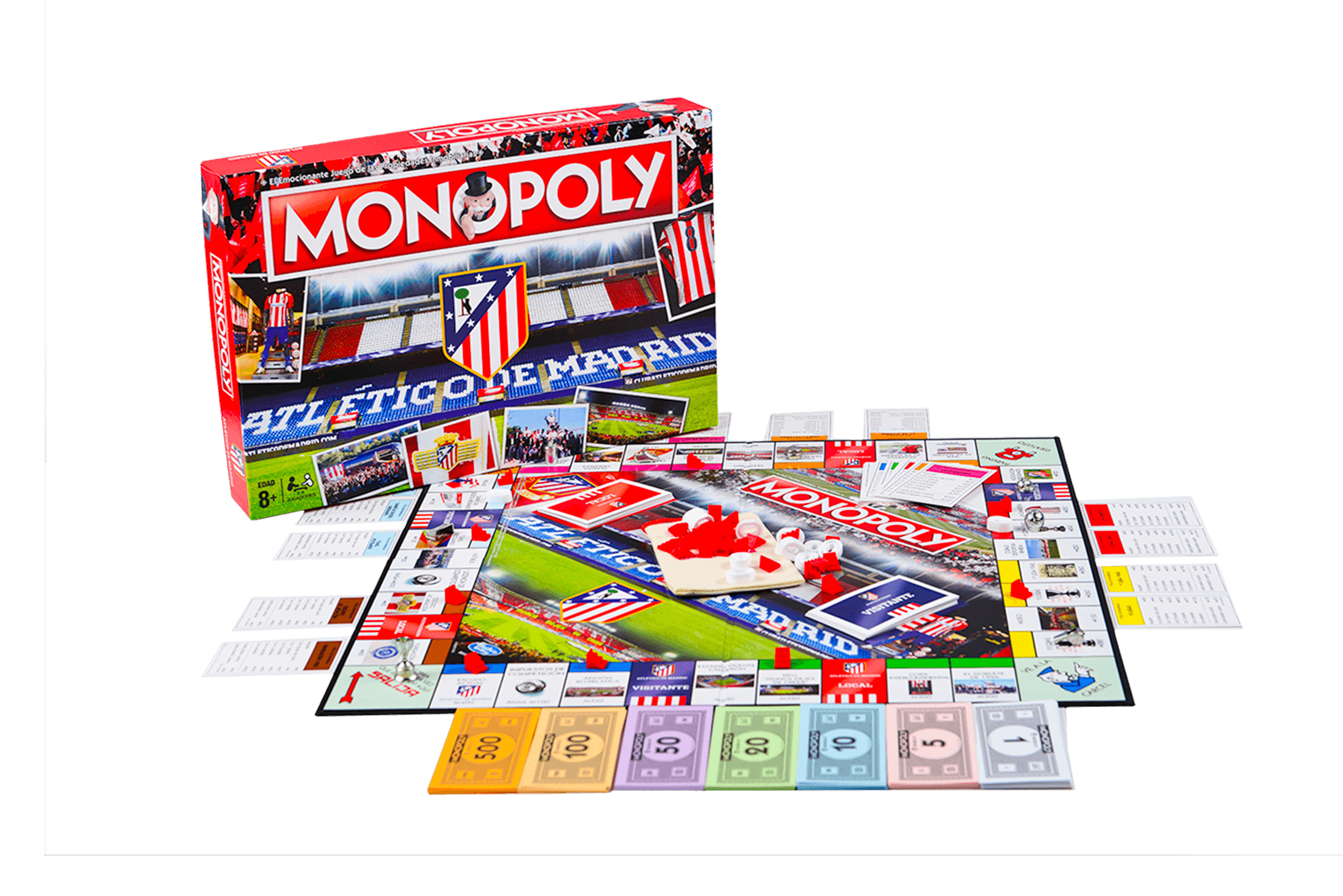 Monopoly Atlético de Madrid (Producto Oficial)