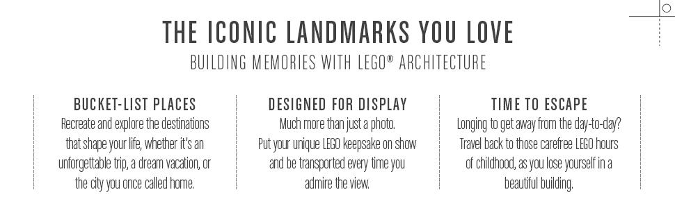 About Lego Architecture