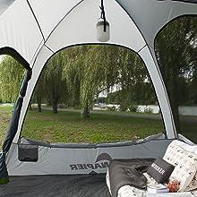 tent, napier suv, backroadz tent