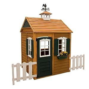 Amazon.com: Big Backyard Bayberry Playhouse: Toys & Games