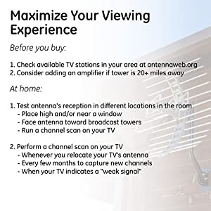 maximize your viewing experience before you buy research channels in your area